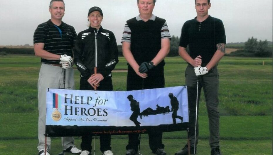 Boydens supports Help for Heroes Golf Day News Post Image