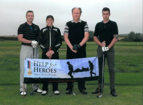 Boydens supports Help for Heroes Golf Day image